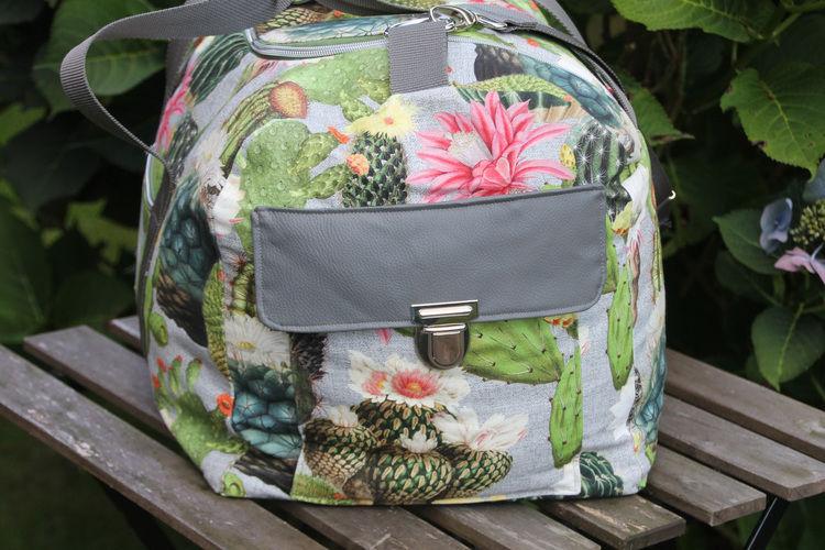 Makerist - LUDWIG, meine Reisetasche - Nähprojekte - 3