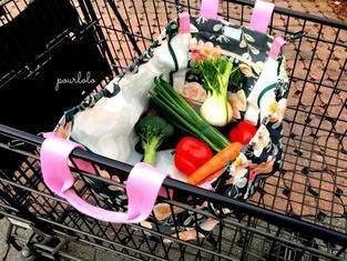 Einkaufswagentasche Sina - das optimale Geschenk