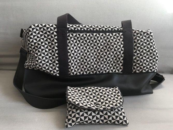 Makerist - Sac Georges Black & White - Créations de couture - 1