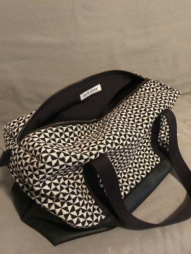 Makerist - Sac Georges Black & White - Créations de couture - 2