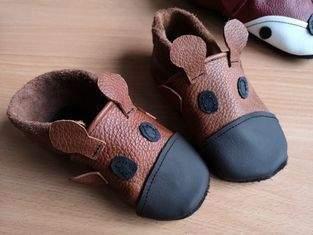 Makerist - Lederpuschen Größe 24 und 27 - 1