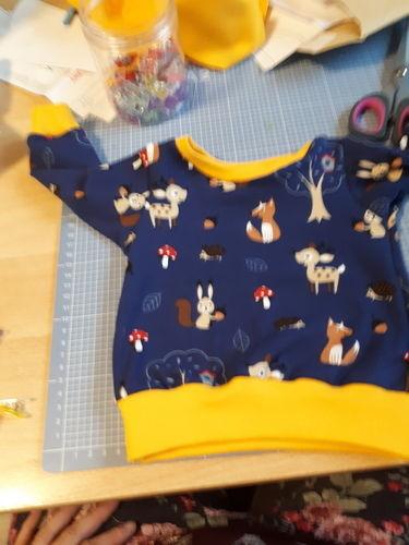 Makerist - Baby Shirt lang  - Nähprojekte - 1