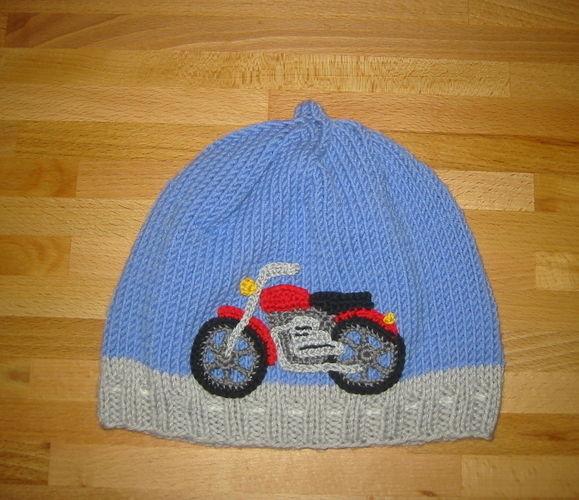 Makerist - Motorrad-Mütze - Strickprojekte - 1