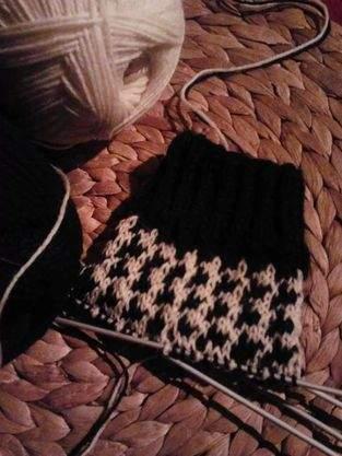 Makerist - Socken im Hahnentrittmuster - 1