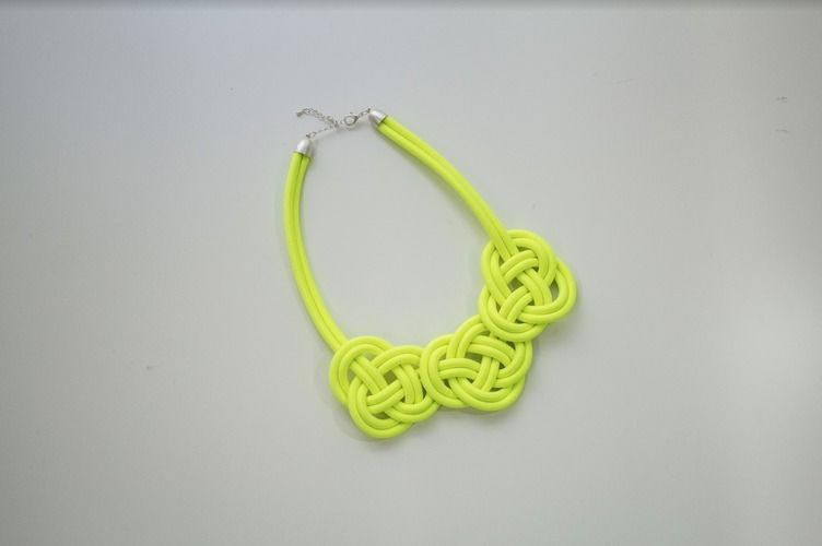 Makerist - Knotenkette aus Kordel - DIY-Projekte - 1