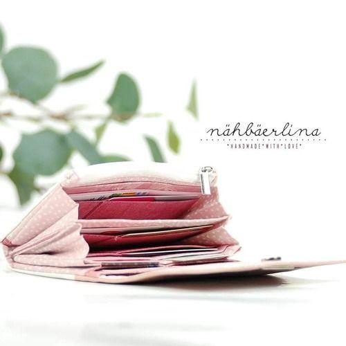 Makerist - Geldbörse Little Ruby von Hansdelli  - Nähprojekte - 2