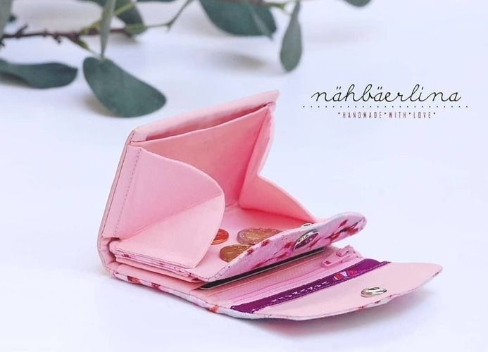 Makerist - Geldbörse MiniGenius von WITTsich  - Nähprojekte - 2