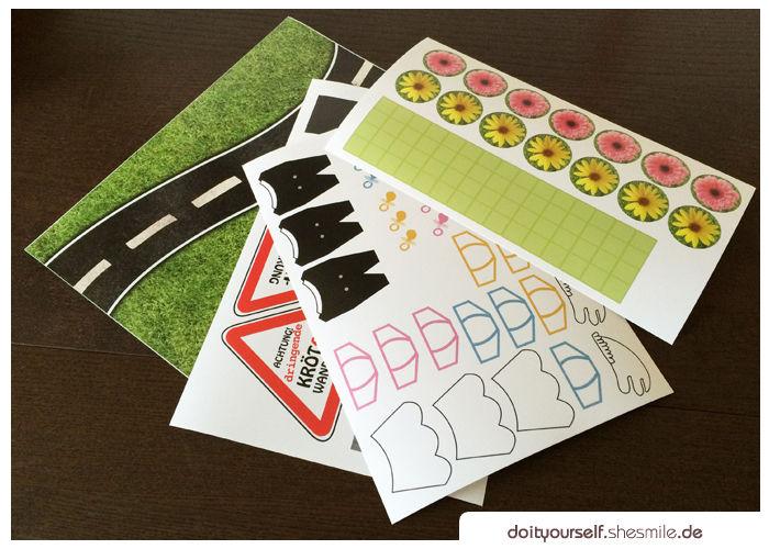 Makerist - Eine Krötenwanderung als Geldgeschenk - DIY-Projekte - 2