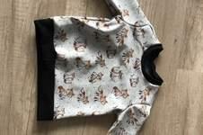 Makerist - Pullover Größe 86/92 Alpenfleecestoff - 1