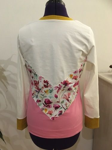 Makerist - Shirt im Color-blocking Style - Nähprojekte - 3