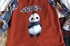 Makerist - Pandashirt für meine Enkelin - 1