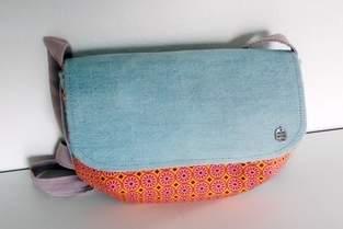 Makerist - ELENI BAG - Jeans Upcycling - 1