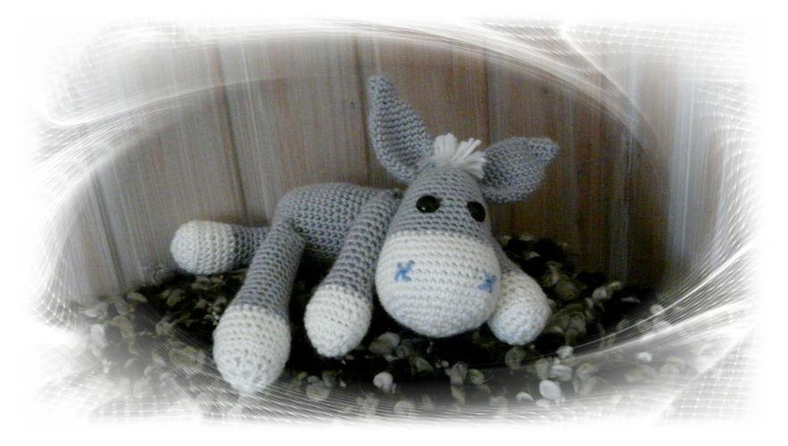 Makerist - Kleiner Esel Rodi  - Häkelprojekte - 1