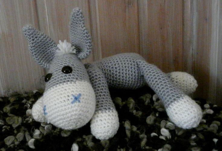 Makerist - Kleiner Esel Rodi  - Häkelprojekte - 3