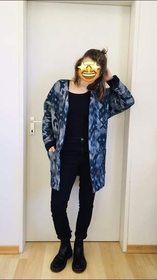 Mäntelchen 'Kimono-Cardigan'