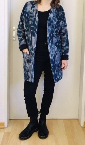 Makerist - Mäntelchen 'Kimono-Cardigan' - Nähprojekte - 3