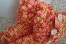 Makerist - stricken: warme füße sind wichtig - 1