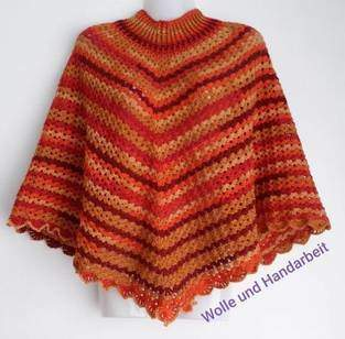 Makerist - Poncho Herbst Melodie  - 1