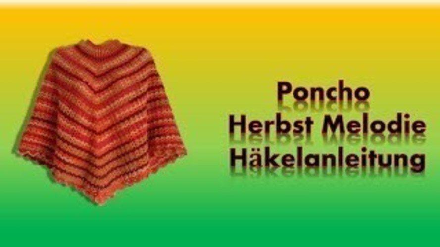 Makerist - Poncho Herbst Melodie  - Häkelprojekte - 3
