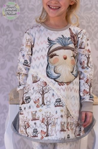 Makerist - Luckygirl Hoodiekleid From Heart to Needle - Nähprojekte - 1