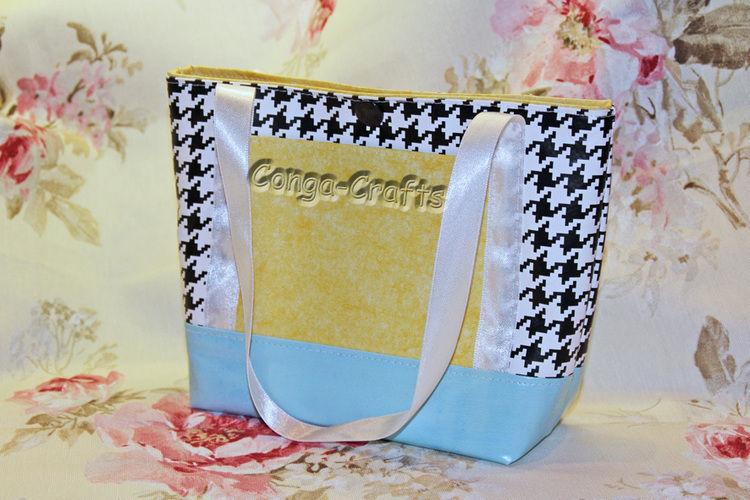 Makerist - Minitasche aus Wachstuch - Nähprojekte - 1