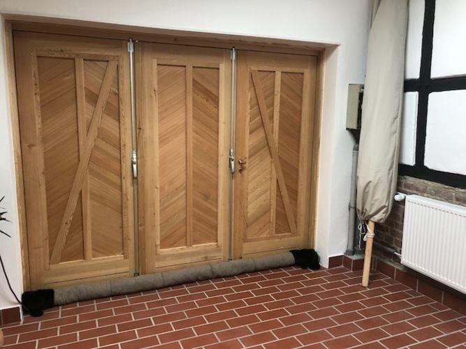 Makerist - Türschlage Wuffel aus Loden für den Kotten der Eltern - Nähprojekte - 2