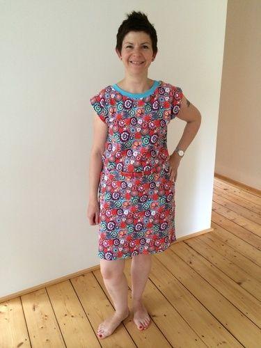 Makerist - Kleid Julie im blumenlook - Nähprojekte - 2