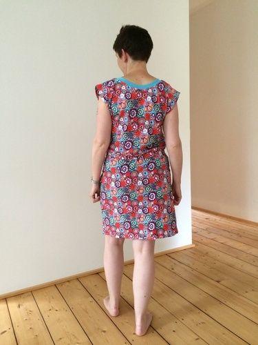 Makerist - Kleid Julie im blumenlook - Nähprojekte - 3
