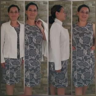 Jacke und Kleid Kombi Anthea und Manolya von Unendlich Schön