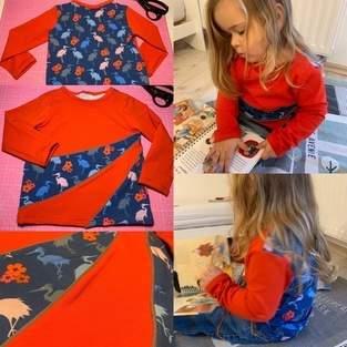 Makerist - Lucky-Shirt Größe 104 - 1