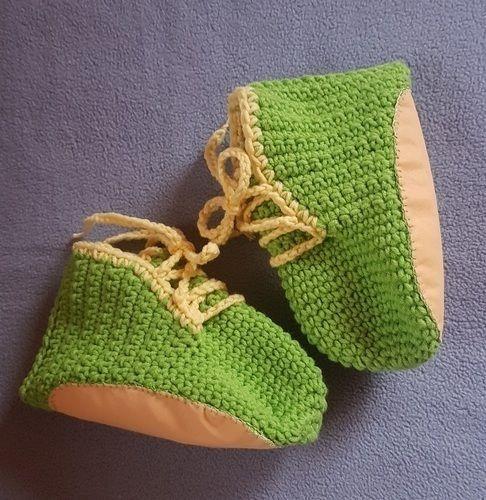 Makerist - Hausschuhe für Kleinkinder  - Häkelprojekte - 1