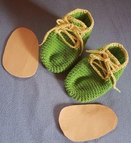 Makerist - Hausschuhe für Kleinkinder  - Häkelprojekte - 2