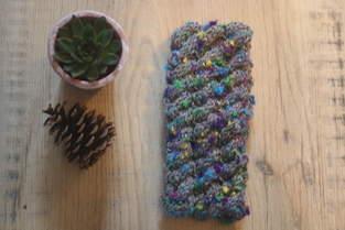 Makerist - Headband en laine mouchetee - 1