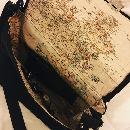 Makerist - Herren Messengerbag aus Oilskin, für meinen Mann  - Nähprojekte - 2