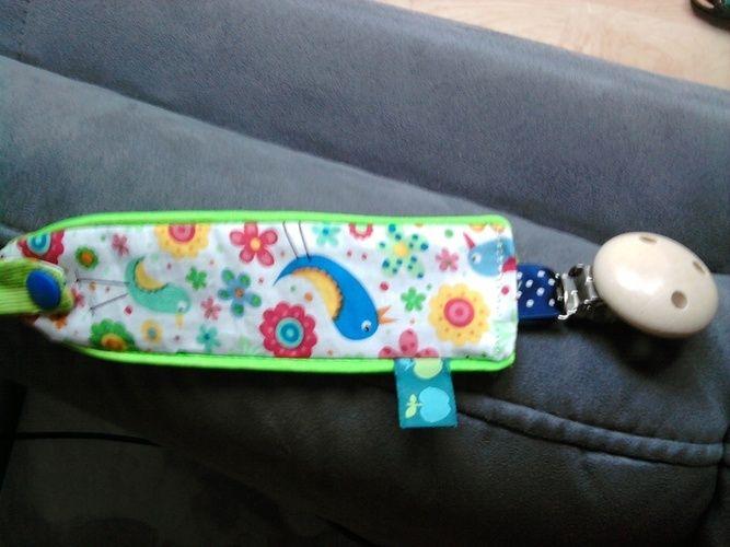 Makerist - Schmittchen,Schnullerkette,Handgelenkportemonnaie.Alles verschenkt :-)  - Nähprojekte - 2