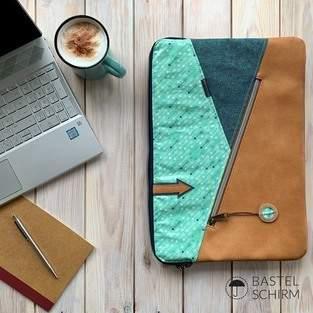 Makerist - Kuoria als Laptophülle - 1