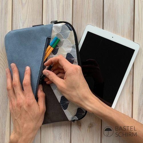 Makerist - Kuoria als Tablethülle - Nähprojekte - 2