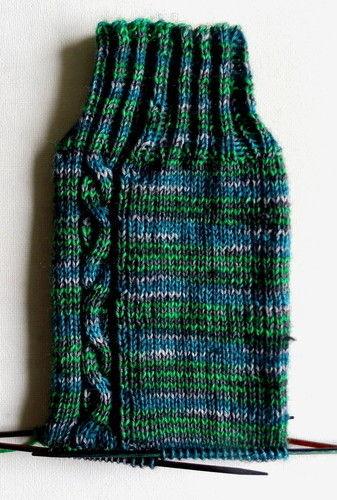 Makerist - Smaragdader-Socken - Strickprojekte - 1