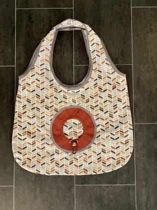 Makerist - faltbare Einkaufstasche Lola B - 1
