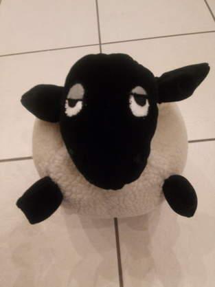 Makerist - Shirley the sheep als Kissen für meine Tochter - 1