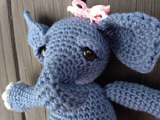 Makerist - Kleines, müdes Elefantenbaby - Häkelprojekte - 1