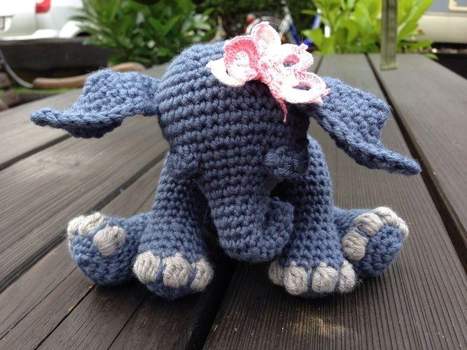 Makerist - Kleines, müdes Elefantenbaby - Häkelprojekte - 2