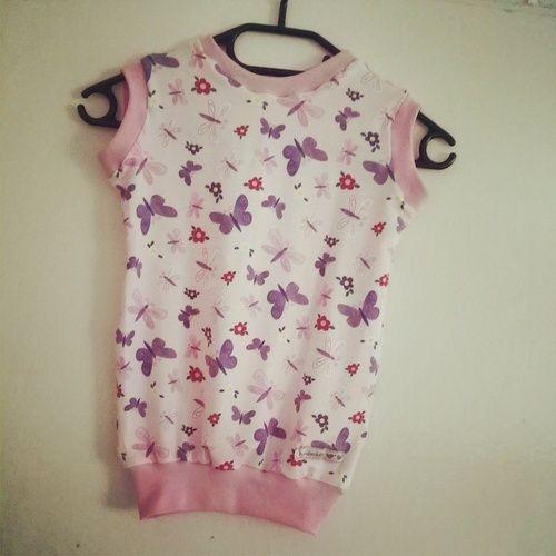 Makerist - Kinderwunscherfüllung : Schmetterlingsoutfit (Jersey)  - Nähprojekte - 2