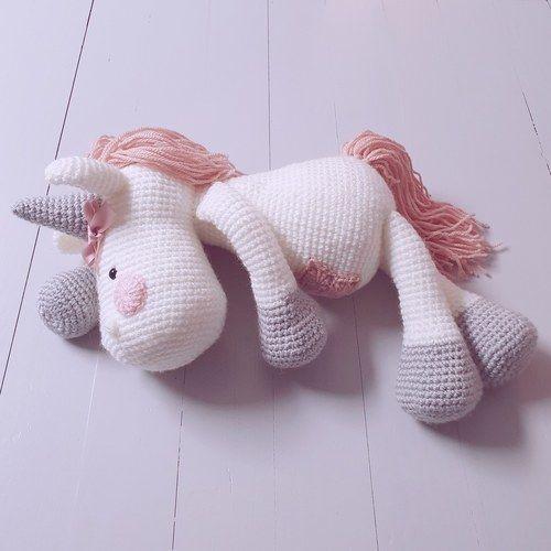 Makerist - Peluche Licorne à crocheter pour soi, pour offrir ou décorer - Créations de crochet - 2