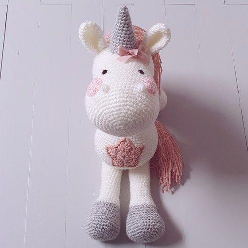 Makerist - Peluche Licorne à crocheter pour soi, pour offrir ou décorer - Créations de crochet - 3