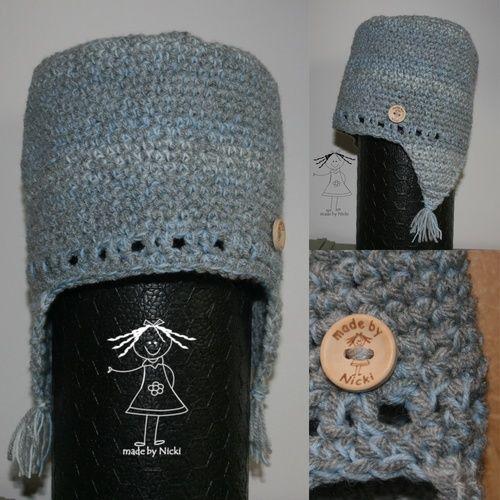 """Makerist - Mütze """"Granny Smith"""" von Drops Design - Häkelprojekte - 1"""