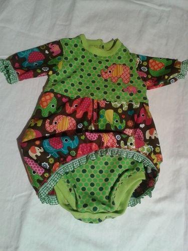 Makerist - Bodykleid für Babys  von Schnabelina - Nähprojekte - 2