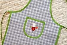 Makerist - Applikation Vogel auf Kinderschürze - 1