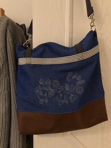 Makerist - Meine Einkaufstasche für einen Stadtbummel  - Nähprojekte - 1