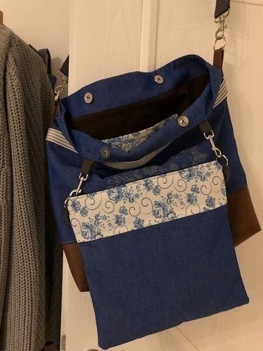 Makerist - Meine Einkaufstasche für einen Stadtbummel  - Nähprojekte - 2